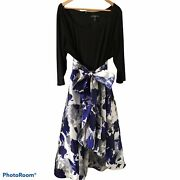 R And M Richards Special Occasion High Low Dress Size 22w