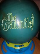 Original Undrilled New Nuline The Gauntlet Bowling Ball 1st Quality Very Rare
