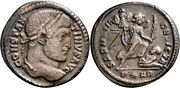 Rrr Ancient Roman Coin Rare Issue For Mintmark Constantine The Great Victory