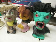 Play-pal 1964 Monster Toy 1 Rubber Figure Doll Dracula Vampire Only