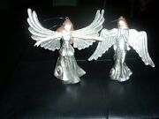 Department 56 Tiny Angel Ornaments - 2 Christmas