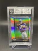 1998 Bowman Chrome Preview Peyton Manning Rookie Refractor Bgs 9 Mint🔥🔥3 9.5's