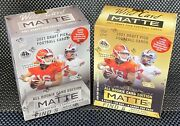 🔥 2021 Wild Card Matte Gold + Silver Mega Exclusive Boxes Factory Sealed 🔥sc
