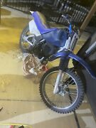 1997 Yamaha Blue Rt180 Used No Dents In The Frame