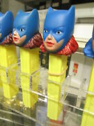 Pez 1978 Batgirl Batman Comic Book Factory Sample Test Colorred Haironly 1known