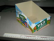 Pez 1970s 2 Items Truck A And B German Store Display Box And Cover