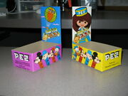 Pez 1970s Disney Mexico Girl Right One Candy Store Display Box Mickey Mouse