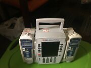 Used 8015 Alaris Pcu Also Comes With Two 8100 Carefusion Pumps.