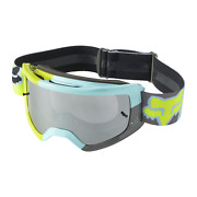 New Fox Racing Main Stray Motocross Mx Offroad Goggle Spark Teal
