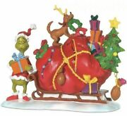 Dept. 56 's Small Heart Grew Three Sizes That Day Figurine 804158 New Box
