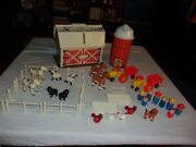 Fisher Price Little People Play Family Farm Toy Set 915 Complete With Extras