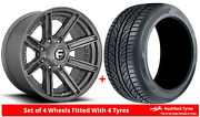 Alloy Wheels And Tyres 20 Fuel Rogue D710 For Jeep Wrangler [mk3] 07-18