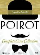 Agatha Christies Poirot Complete Cases Collection Dvd 2014 33-disc Set