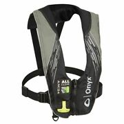 Onyx A/m-24 All Clear Auto/manual Adult Inflatable Pfd Grey 132200-701-004-21