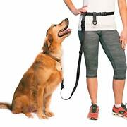 The Buddy System Adjustable Hands Free Dog Leash, Great Waist Leash For Running,