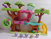 Littlest Pet Shop Lps Magic Motion Tree House With Pets Playset