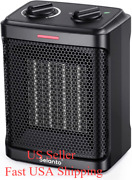 Portable Electric Space Heater For Indoor Use,1500w Ceramic Portable Heater With