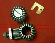 Atlas Craftsman 10 12 Lathe Mitre Gear Assembly 10f-82a And 10f-83 Complete