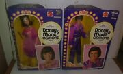 New Old Stock Donny And Marie Osmond Dolls Action Figures Mattel Toys 1976 Box