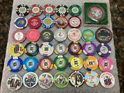 53 Casino Chips And Tokens Dunes Kings Palms Midas Please Read List