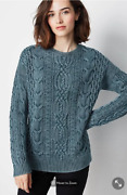 J.jill - Womenand039s Sweater | Stonewashed Cable-knit Sweater - Authentic