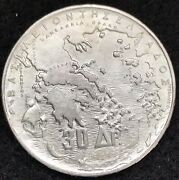 1963 Silver Greece 30 Drachmai Five Greek Kings Coin Mint State Condition