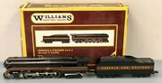 Williams 5601 Brass Norfolk And Western 4-8-4 J Class Steam Engine And Tender Ln