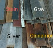 Barnwood Wall Planks Rustic Recycled Salvaged Reclaimed Lumber 20 Sq Ft