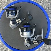 Lot Of 2 Tsunami Barrier Ii 4000 Spinning Reels Sealed For Saltwater Or Fresh