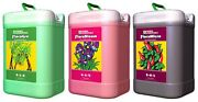 General Hydroponics Flora Series 6 Gallons Floragro, Florabloom, And Floramicro