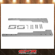 Ball Milled Chrome Billet Aluminum Wire Loom Set Fit Chevy Ford