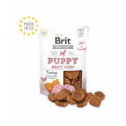 Brit Jerky Snack – Turkey Meaty Coins For Puppies 80 G, Lot 800g 10 Pack