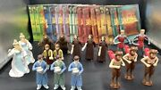 Lot Of 34 Mcdonald's 2005 Chronicles Of Narnia Book Dioramas Figures Pre-owned