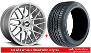 Alloy Wheels And Tyres 19 Rotiform Rse For Mitsubishi Outlander [mk1] 03-06