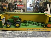 Ertl John Deere 7420 Tractor With Plow And Removable Blade