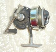 Vintage/antique Bache Brown Master Fishing Reelairex Corp Of Lionel Corpusa