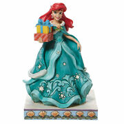 Jim Shore Gifts Of Song Polyresin Ariel Little Mermaid 6008982