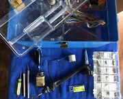 Fly Fishing Kit - Includes Tying Vice, Bobbin, Threads And Hooks W/ Box