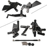 Rear Sets Footrest Footpegs For Yamaha Yzf R1 2009 2010 2011 Foot Pegs Adjust Us