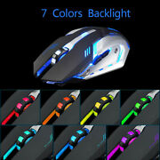 Wireless Gaming Mouse Rechargeable X7 Silent Led Backlit Usb Opticalandmiddot Andmiddot