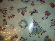 Longaberger All The Trimmings Christmas Fabric- 1 Yard Long X 58 Wide - New