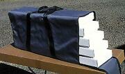 A-line 19255 Ho Hobby Tote System W/ Nylon Carrying Case-4 High-sided Container