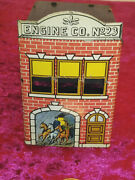 West Brothers Tin Litho Engine Co No 23 Candy Container - Toys And Confectionery