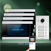 Homsecur 7 Wifi Video Door Phone Intercom System With Motion Detection