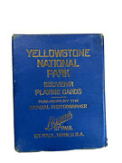 Yellowstone National Park Souvenir Playing Cards
