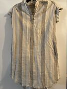 Womens Dresses  Collared Neck  W/pockets  Size Small