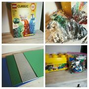 Huge Lego Figures And Accessories Lot Base Plates Star Wars Ghostbusters And More