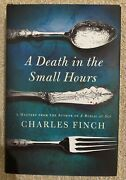 Charles Lenox A Death In The Small Hours By Charles Finch 2012 Hardcover + Dj