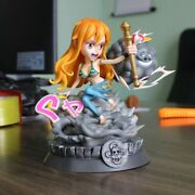 One Piece Nami Zeus Luffy Homie Big Mom 26cm Action Figure Doll Toys With Box