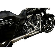Trask Assault 21 Exhaust Full Stainless Straight For And03917-and03920 Touring Tm-5010